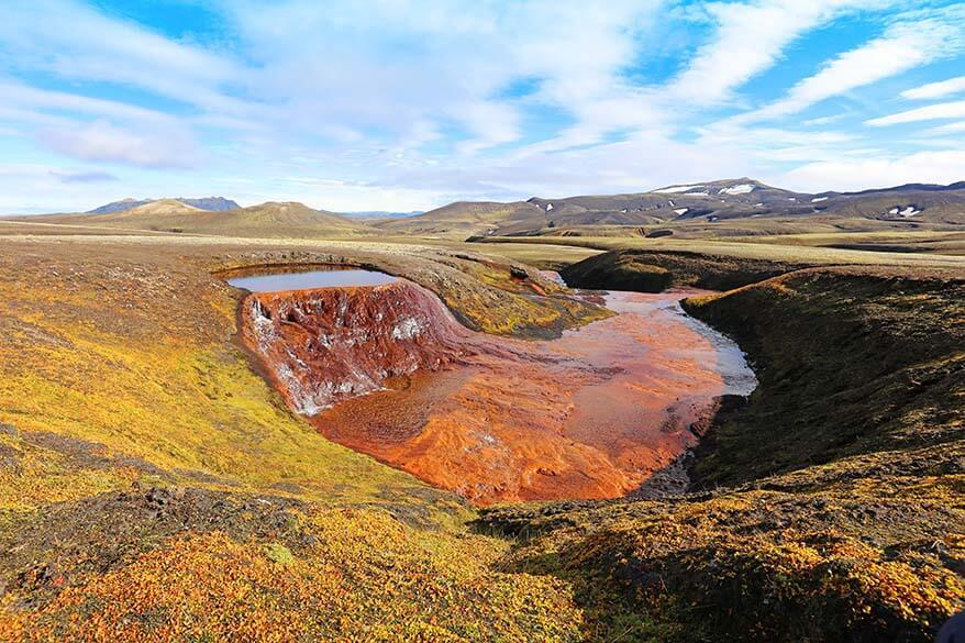 Raudufossafjoll, Red Falls Mountains - hidden gem of Icelandic highlands - a secret place only known to very few