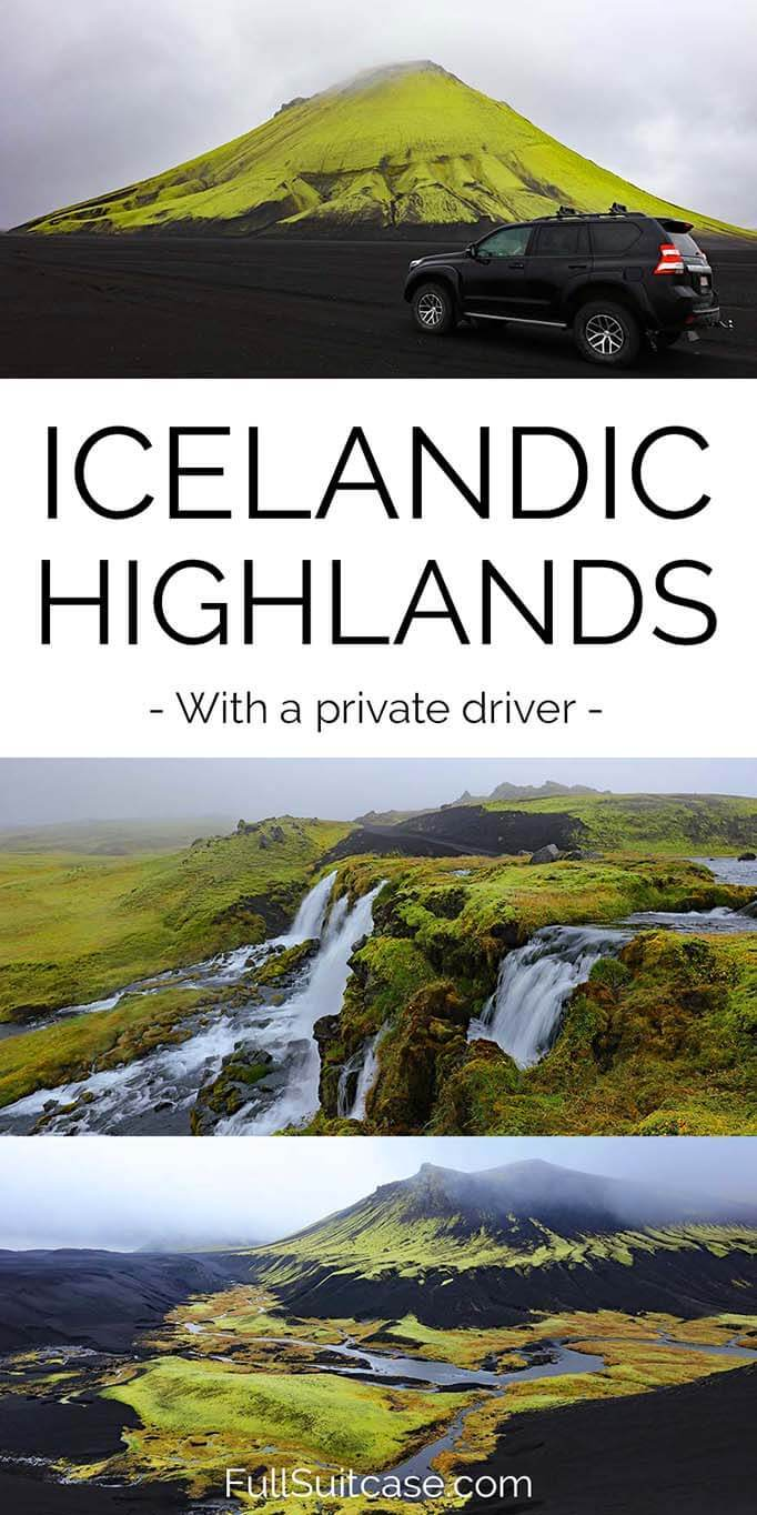 See the best of Icelandic highlands on a private tour