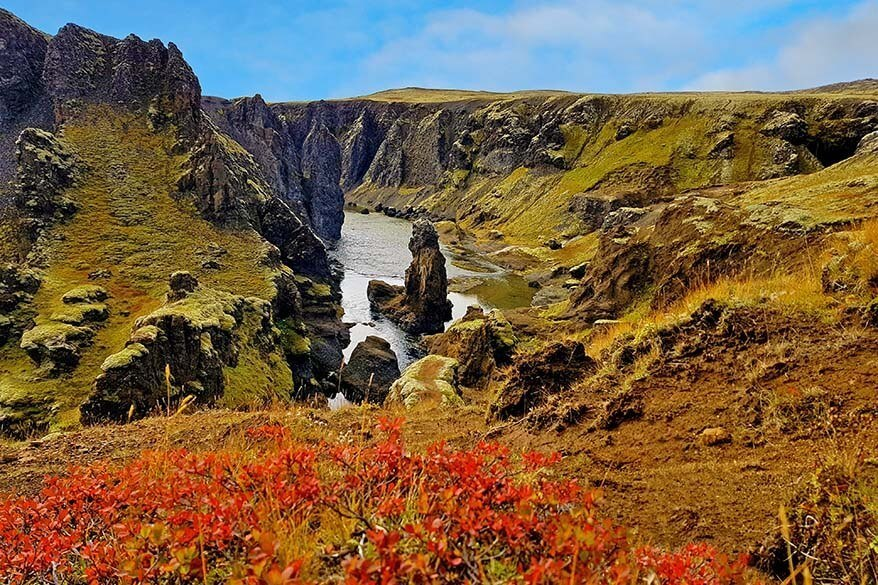 Storu - Laxargljufur canyon in the Icelandic highlands