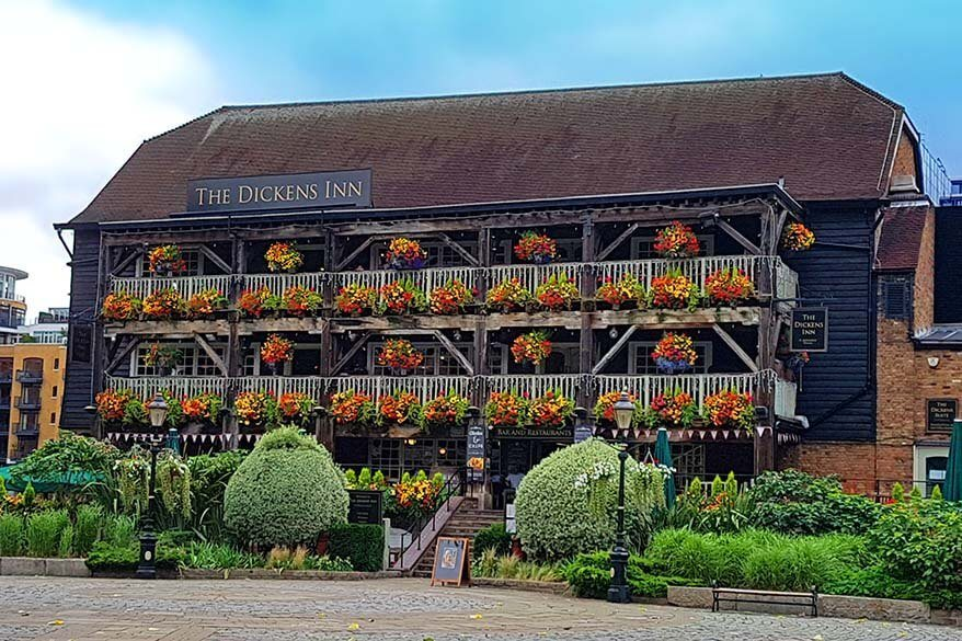 The Dickens Inn in London