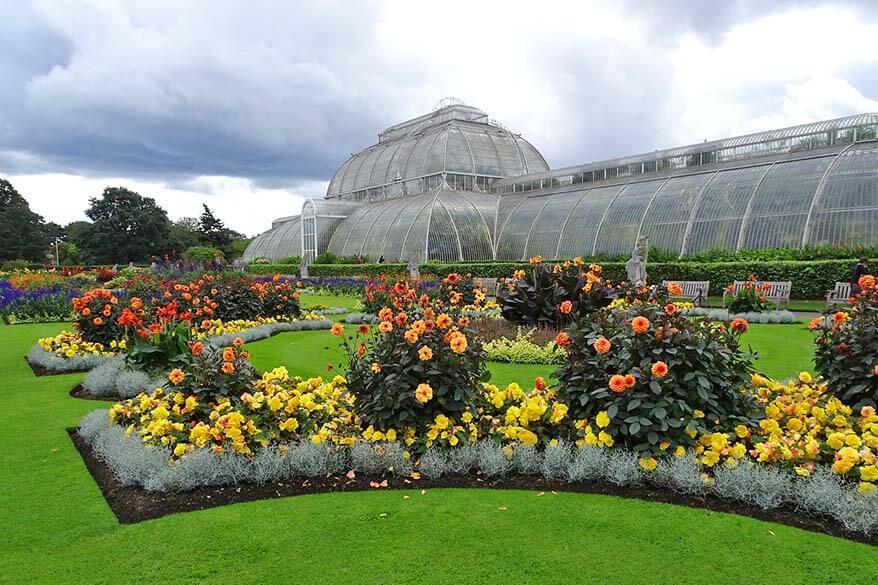 The Royal Botanic Gardens, Kew in London
