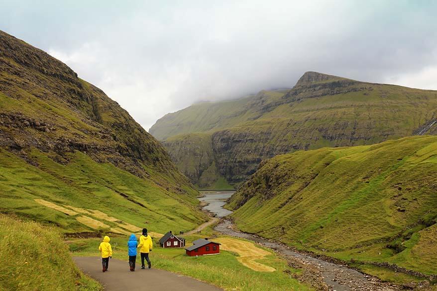 Ut a Lonna hike in Saksun, Faroe Islands