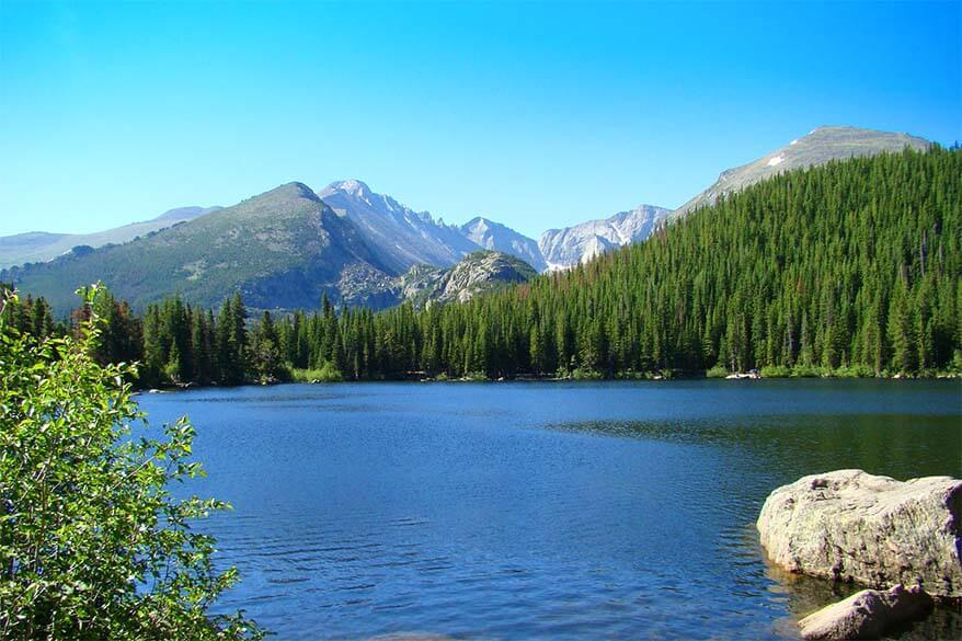 Bear Lake is not to be missed in any Rocky Mountain itinerary