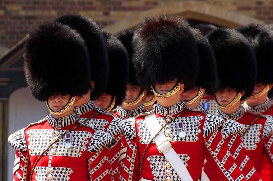 British Royal Guard in London, UK