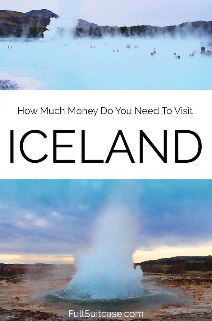 Budgeting for a trip to Iceland - price examples for food, hotels, activities, car rental and more