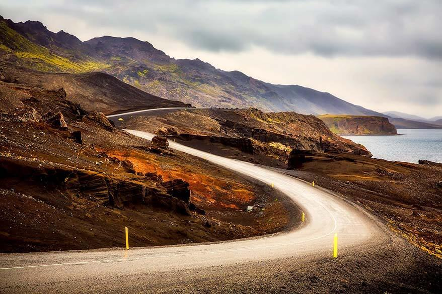 Driving in Iceland in September - road conditions are generally very good