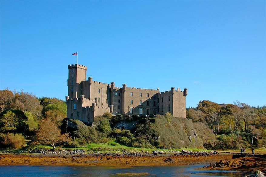 Dunvegan Castle is not to be missed when visiting the Isle of Skye in Scotland