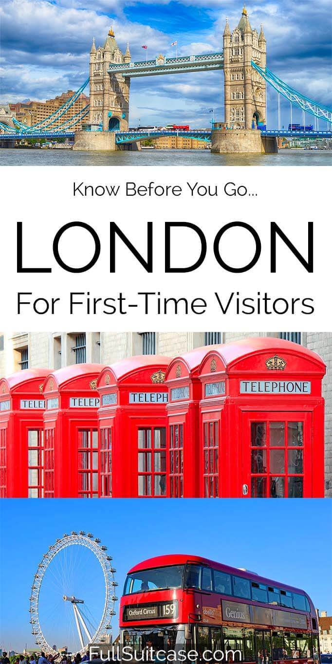 Everything you should know before traveling to London for the first time