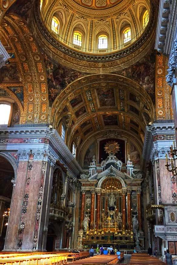 Gesu Nuovo church in Naples