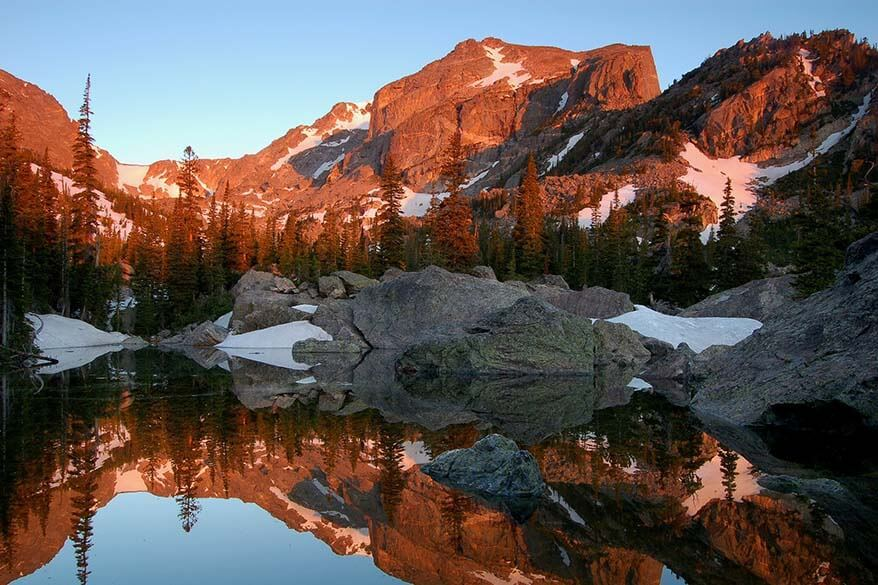 Itinerary suggestions for Rocky Mountain National Park Colorado