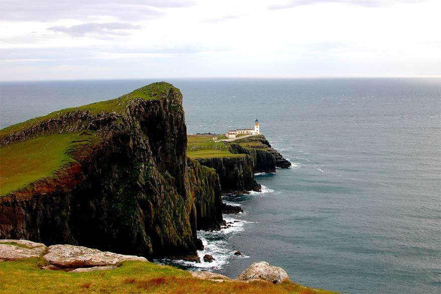 Neist Point lighthouse - Isle of Skye