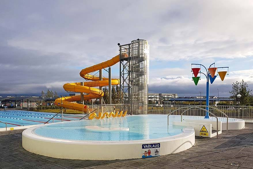 Public swimming pools in Iceland cost just a fraction of the popular places like the Blue Lagoon or Myvatn Nature Baths
