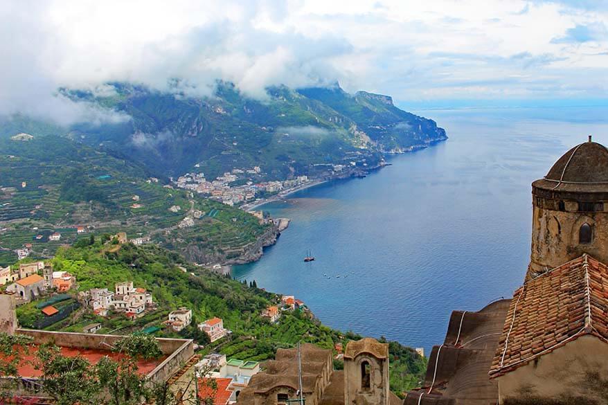 Ravello on the Amalfi Coast in Italy