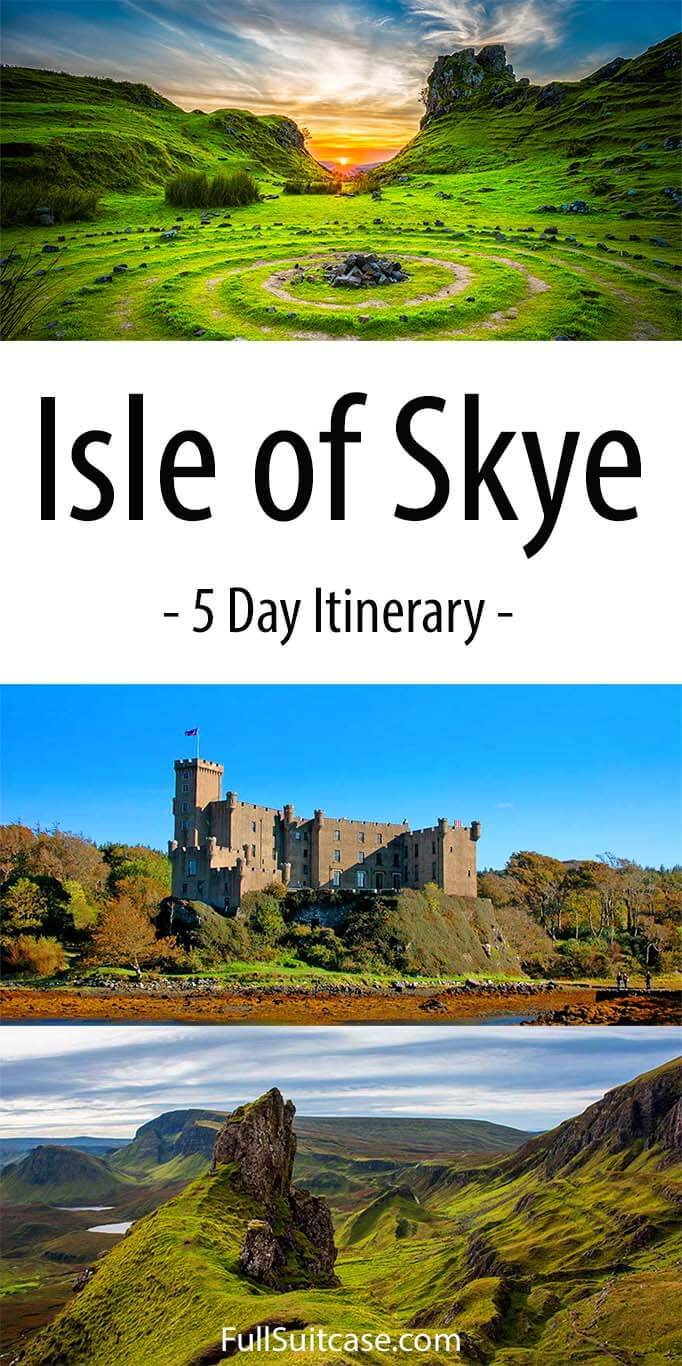 See all the best places of the Isle of Skye with this Skye itinerary for 5 days - Scotland