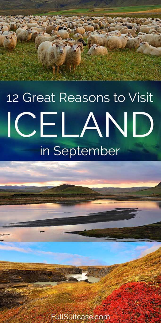 September is one of the best months to travel to Iceland
