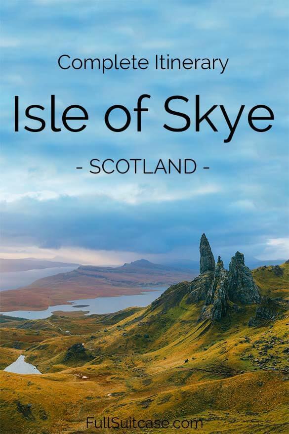 The most complete Isle of Skye itinerary - Skye, Scotland