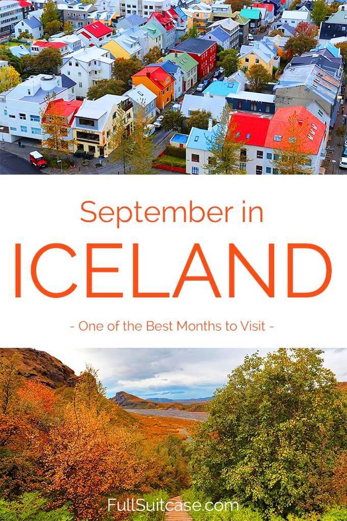 Traveling to Iceland in September - here's what to expect