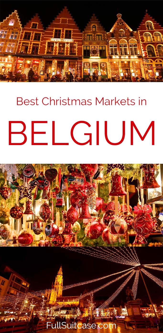 Belgium is home to some of the best Christmas markets in Europe