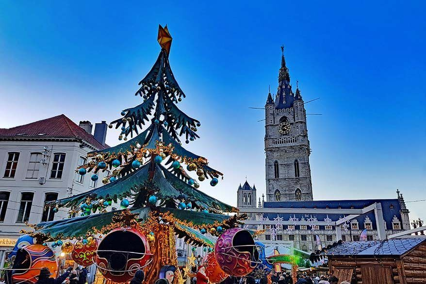 Best Christmas markets in Belgium
