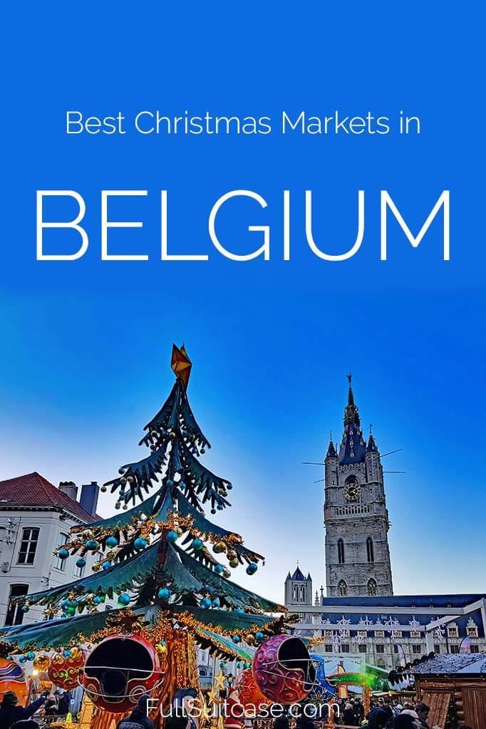 Best Christmas markets to visit Belgium this Holiday season