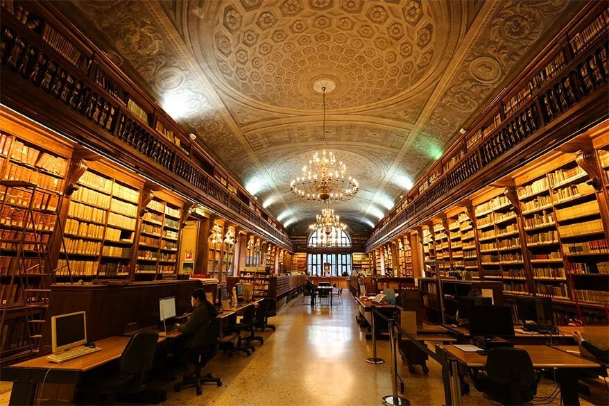 Braidense National Library is a real hidden gem of Milan