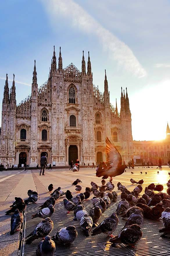 Duomo di Milano - Milan Cathedral is not to be missed when visiting Milan in Italy
