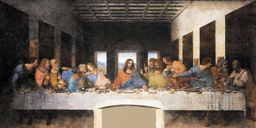 Leonardo da Vinci painting The Last Supper is nice to see if you have more time in Milan
