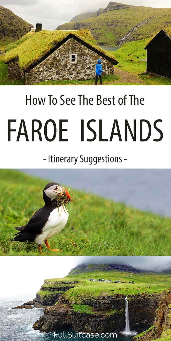 See the best of the Faroe Islands with these itinerary suggestions from 3 to 9 days