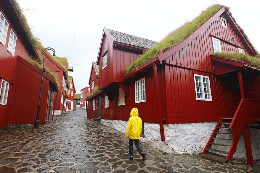 Tinganes area in Torshavn is a must in any Faroe Islands itinerary