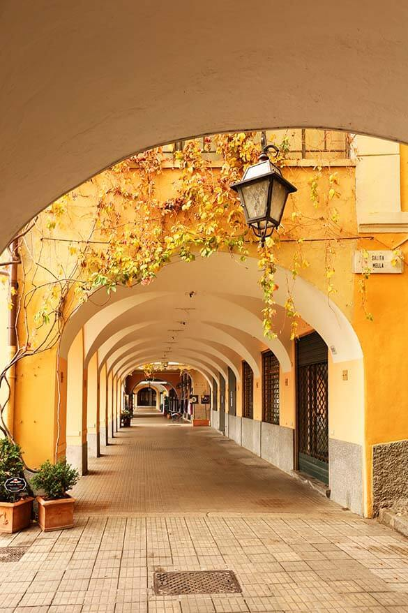 Bellagio at Lake Como in Italy is only this quiet in winter season