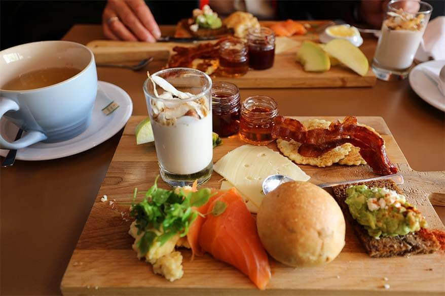 Brunch at Hafnia hotel restaurant in Torshavn, Faroe Islands