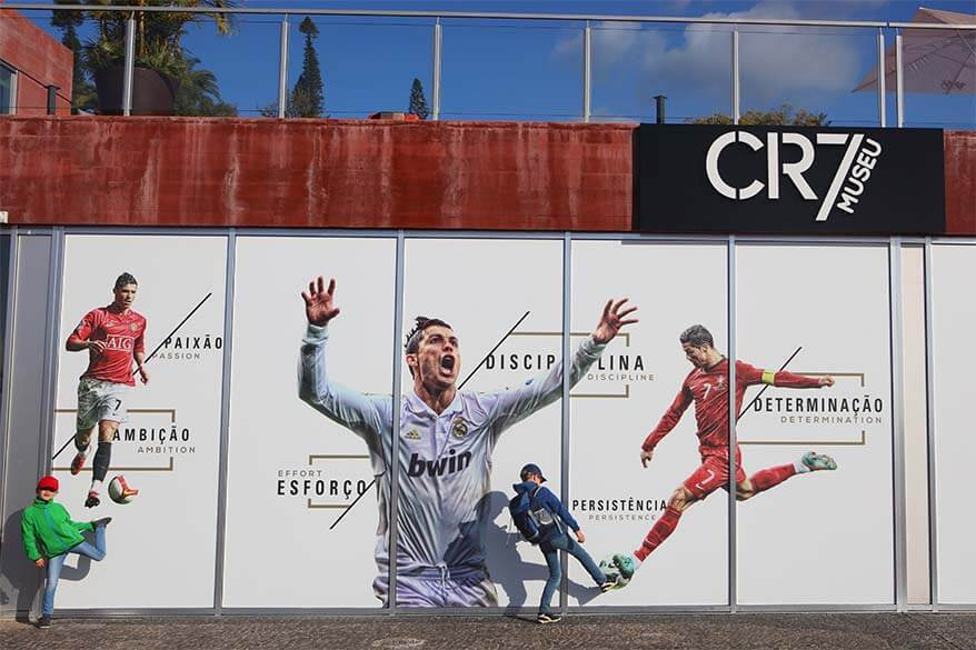 CR7 museum is one of the newest museums you can visit in Funchal Madeira