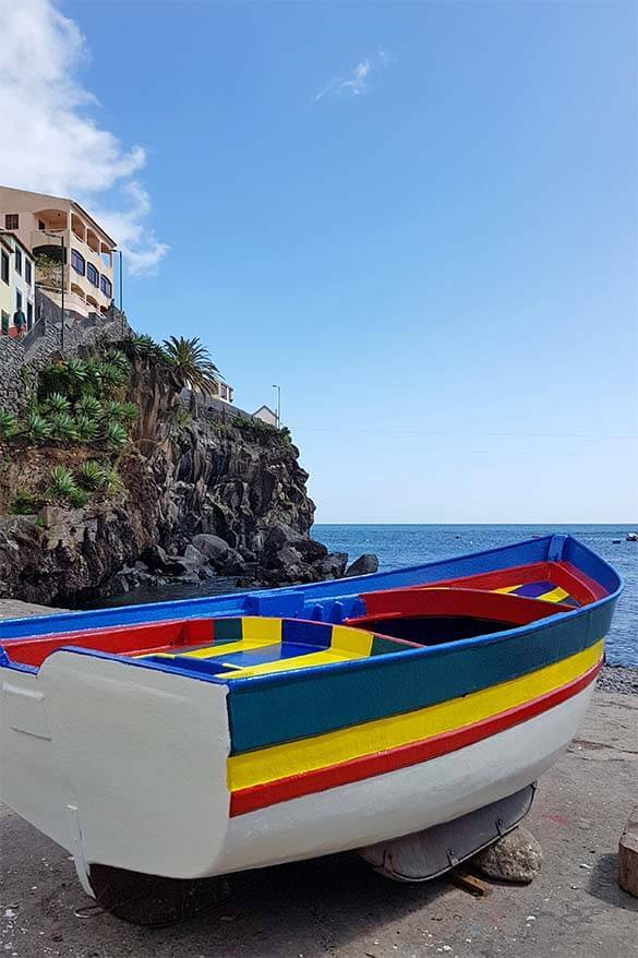Camara de Lobos fishermen's village in Madeira, Portugal