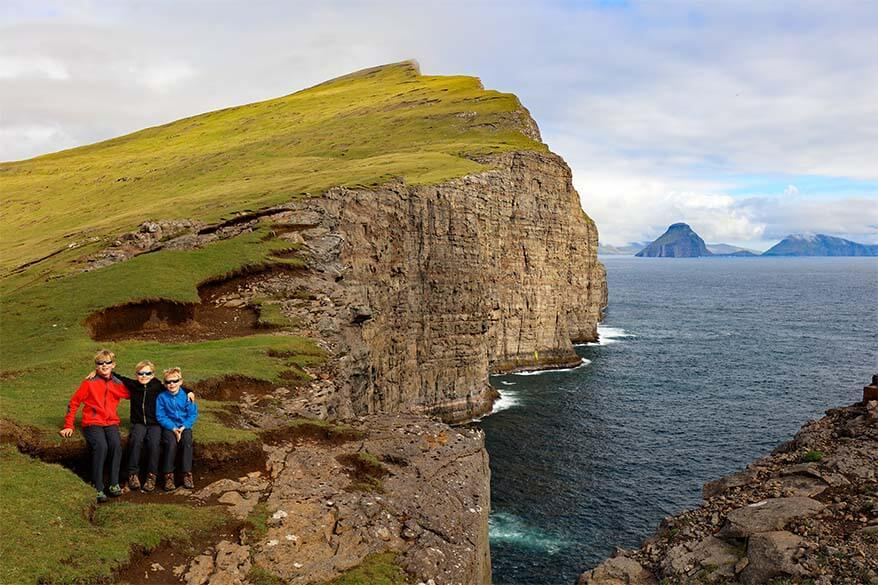 Faroe Islands was the most memorable family trip we made this year