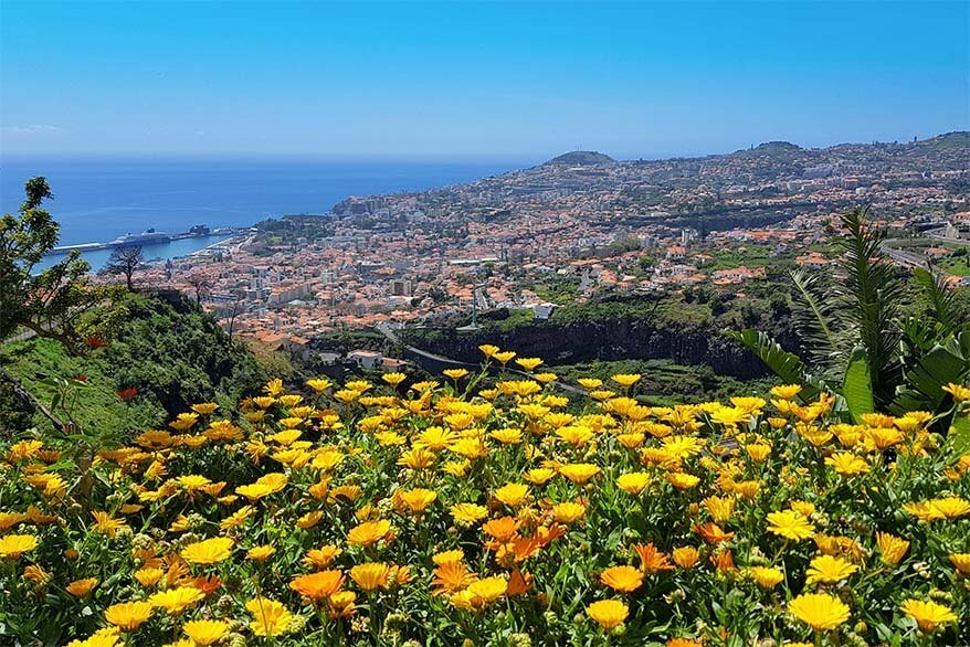 Funchal is the city of gardens
