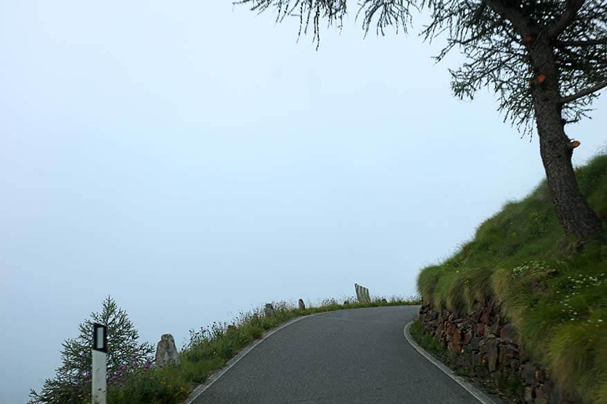Gavia Pass in Italy