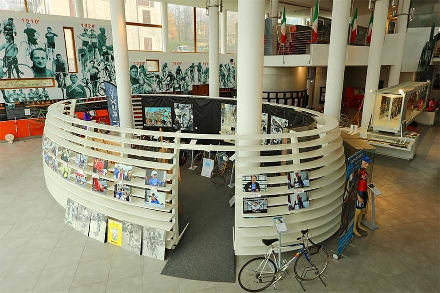 Ghisallo Cycling Museum (Museo del Ciclismo) in Lombardy Italy