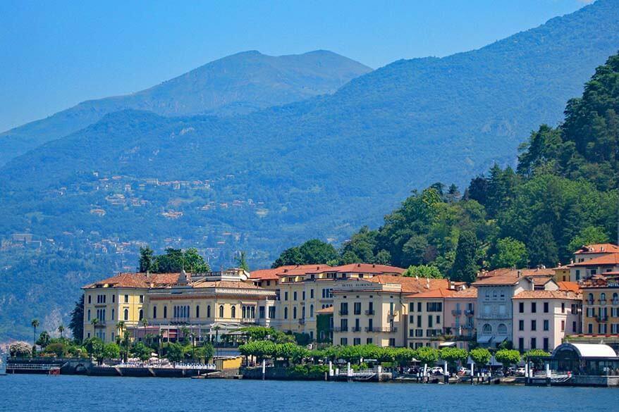 Grand hotel Villa Serbelloni in Bellagio