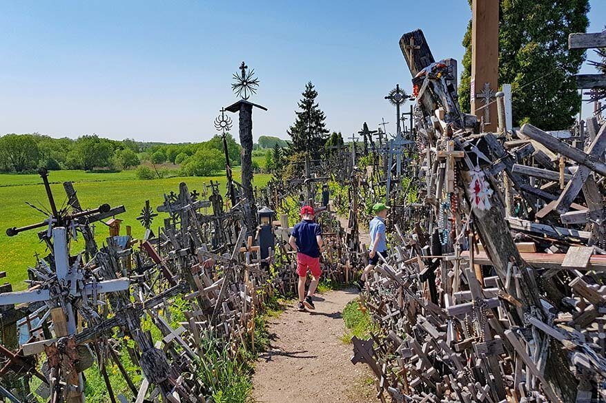 Hill of Crosses in Lithuania is one of the most unique places in the world