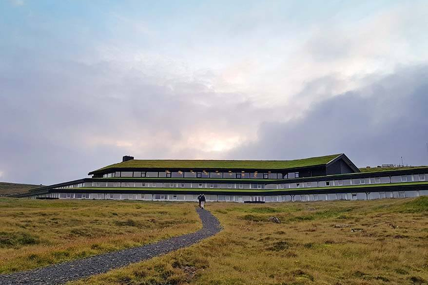 Hotel Foroyar in Torshavn is one of the best places to stay on the Faroe Islands