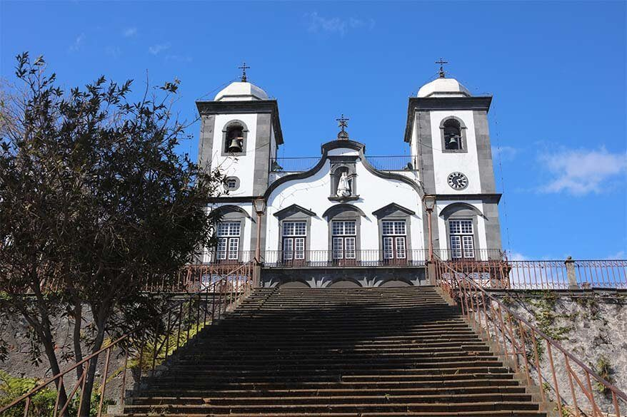 Igreja do Monte is one of the things you have to see in Funchal