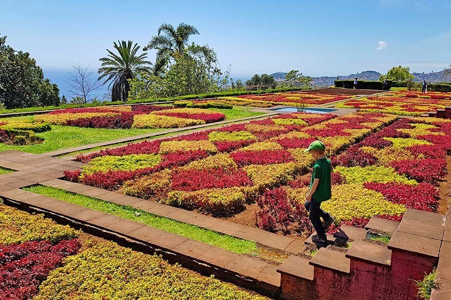 Madeira Botanical Garden - Jardim Botanico - is one of the most beautiful gardens of Funchal