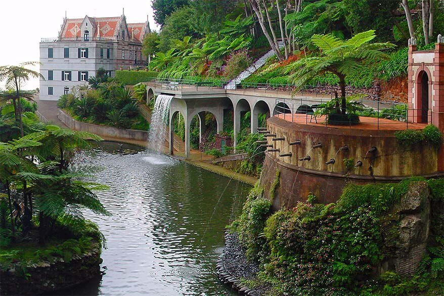 Monte Palace Tropical Garden in Funchal Madeira