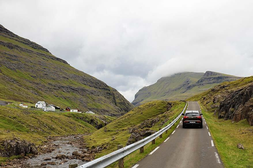 Renting a car is the best way to explore the Faroe Islands
