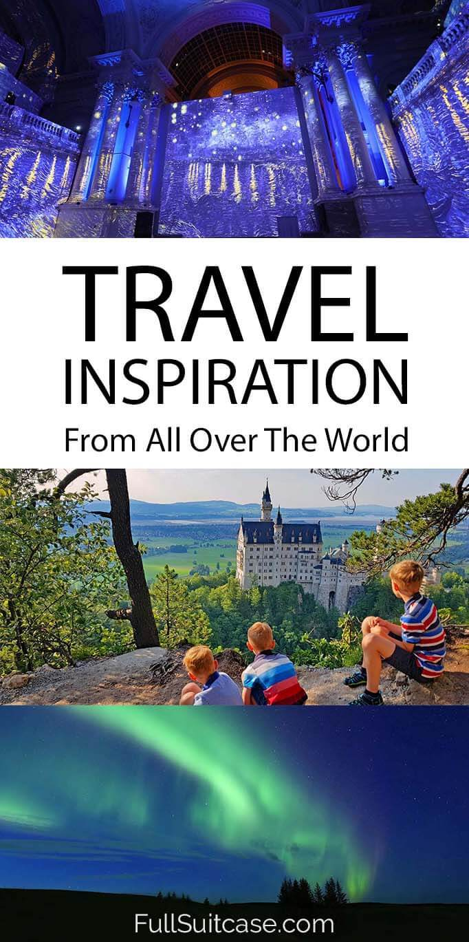 Travel inspiration from all over the world
