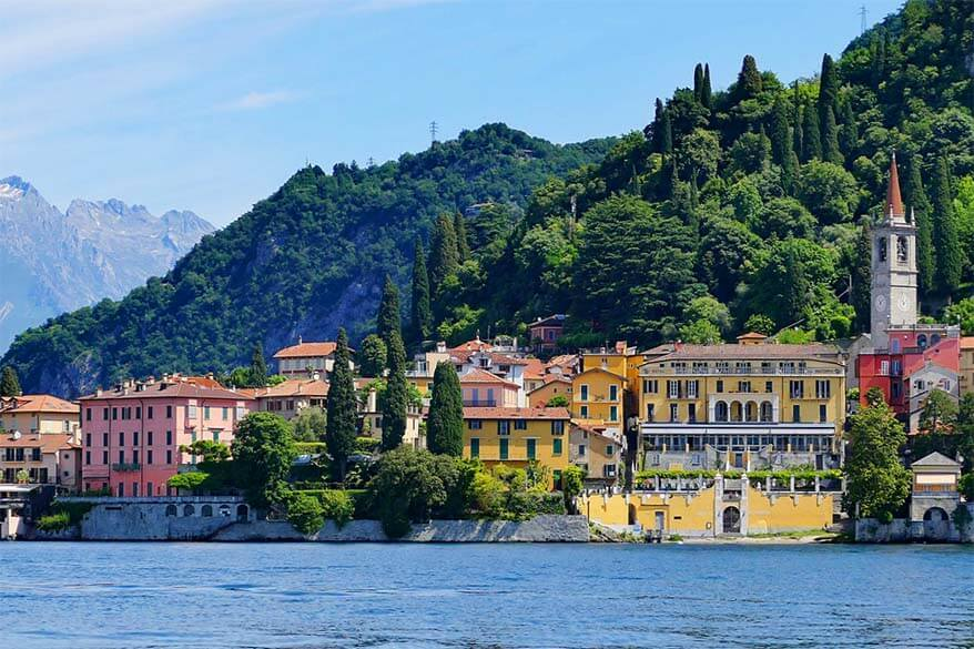 Varenna Lake Como Italy - a great excursion from Bellagio