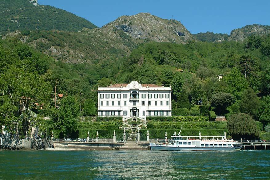 Villa Carlotta in Tremezzo is one of the main landmarks of Lake Como Italy