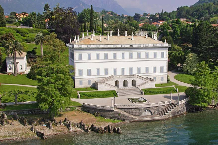 Villa Melzi is must see when visiting Bellagio in Lake Como Italy