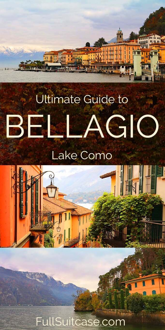 Visit Bellagio Lake Como in Italy - things to do, places to stay, and more