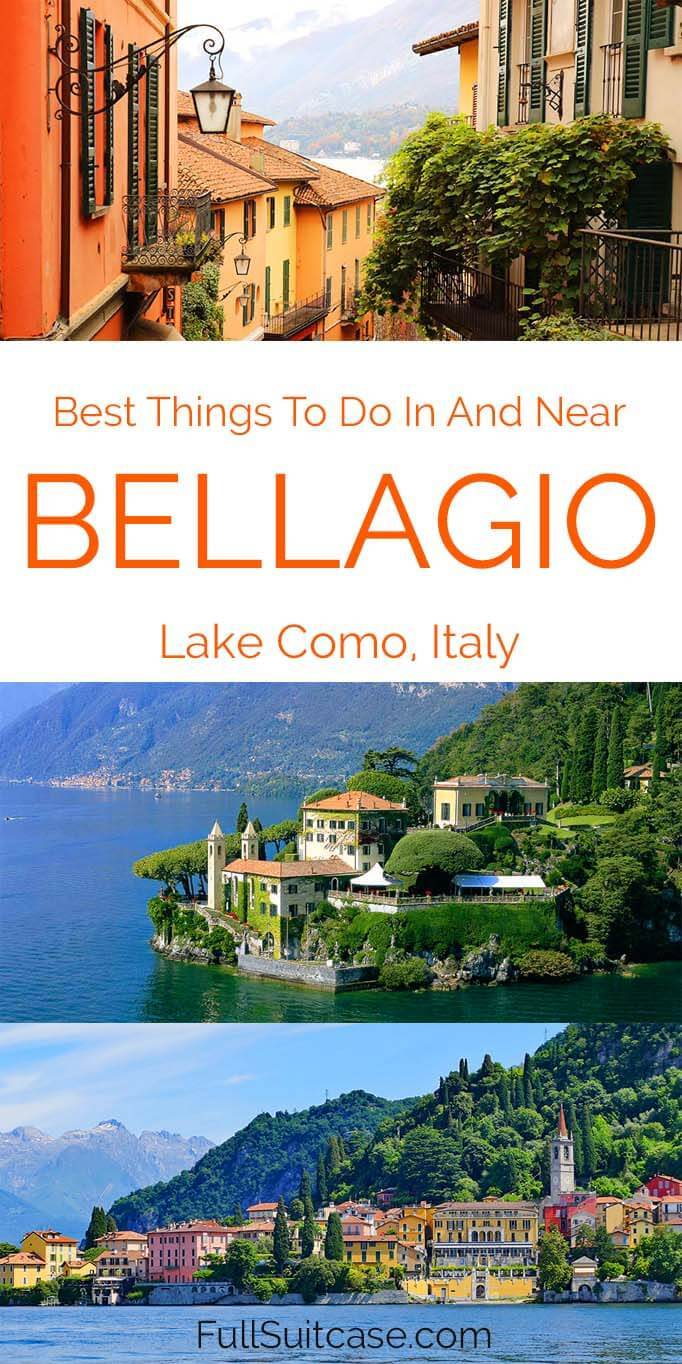 What to see and do in Bellagio Lake Como in Italy